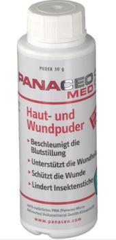 Panaceo med Haut - und Wundpuder Zeolith 30 g