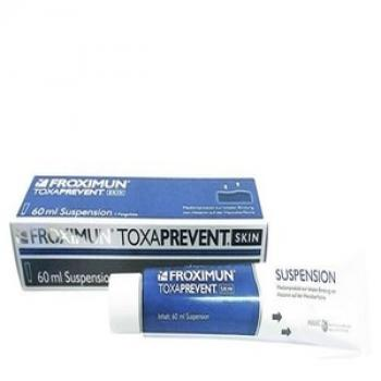 TOXAPREVENT SKIN Suspension Zeolith Maske 60 ml